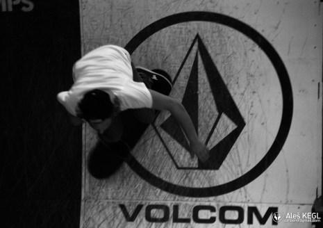The Volcom ramp contest was superfun again!