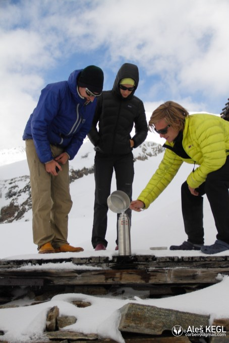 Making water from snow