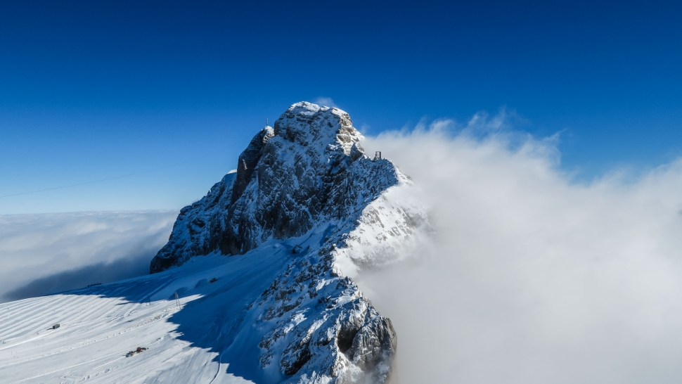 The Dachstein would be our playground