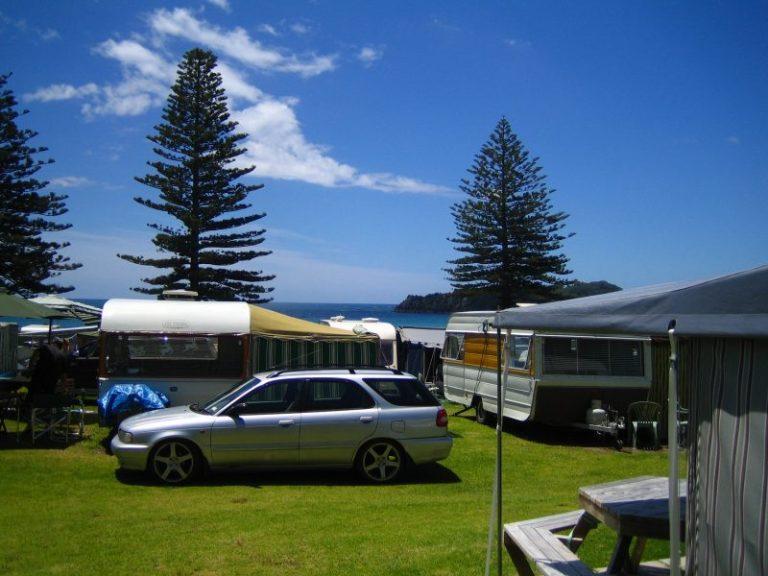 Neuseeland Rundreise Campen