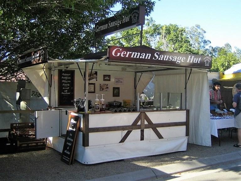 Daytrips Brisbane_German Sausage Hut Eumundi