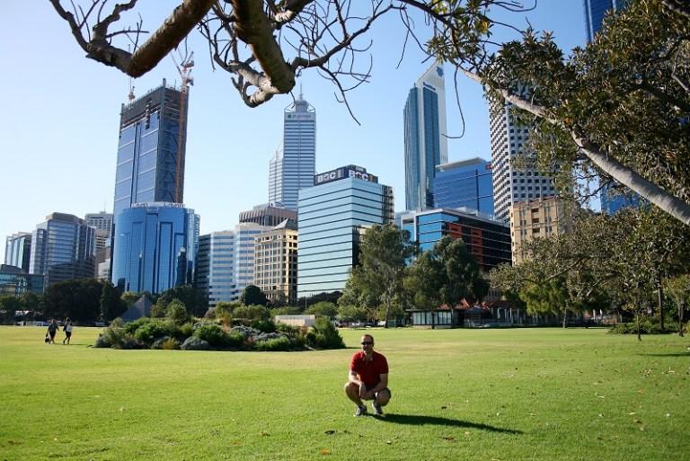 Westaustralien Roadtrip Perth Skyline