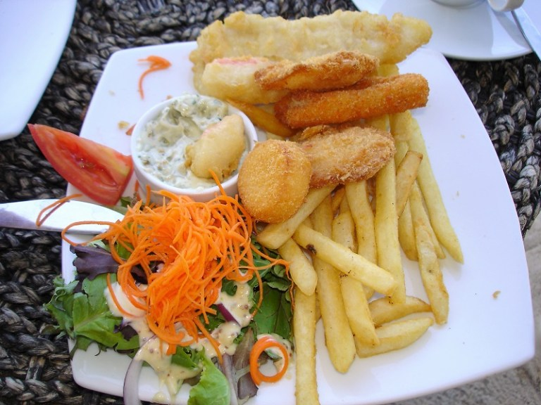 Westaustralien Roadtrip Perth Exmouth Monkey Mia Seafood Basket