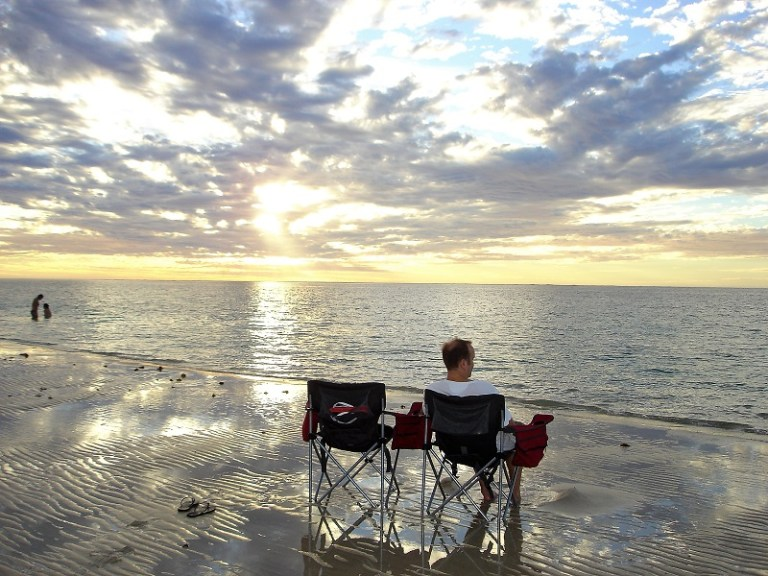 Westaustralien Roadtrip Perth Exmouth Sonnenuntergang Coral Bay