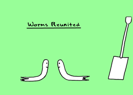 Worms Reuinted: Doodle by Andre Jordan