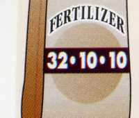 which fertilizer? what's in the bag