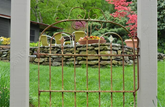 salvaged garden gate 3