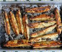 greek lemon, oregano and garlic roast potatoes