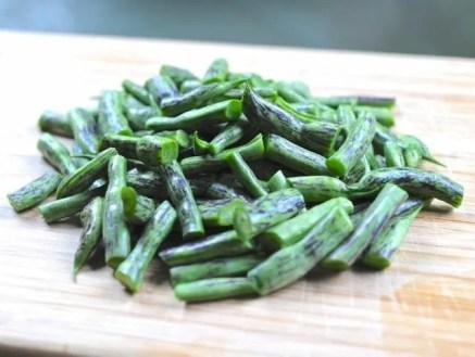 "Some beans like 'Rattlesnake' are ""dual-purpose,"" for eating fresh..."