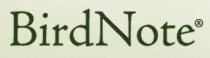 birdnote logo