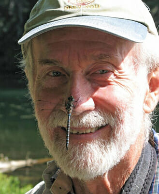 Zoologist, author and odophile Dennis Paulson