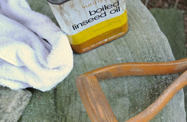 linseed oil for tool heads and handles