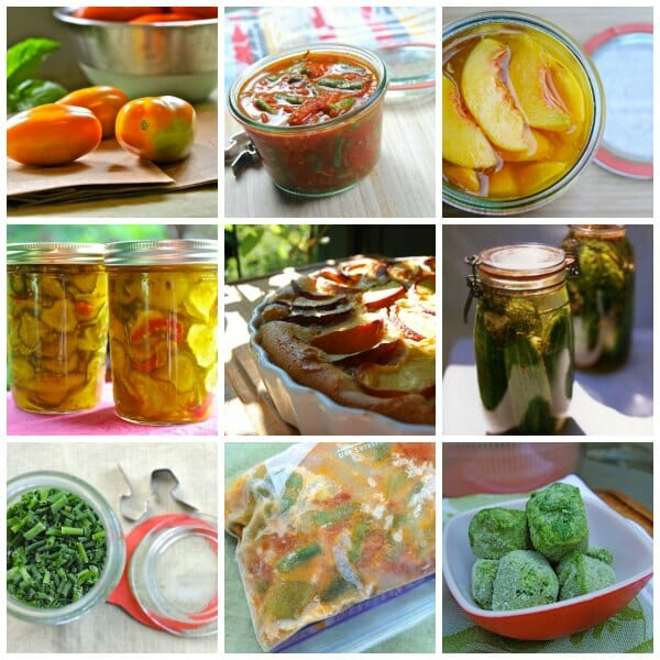 Canning, freezing adn pickling to-do's for Labor Day weekend