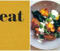 nigel slater's potatoes with spices and spinach (win his new book 'eat')