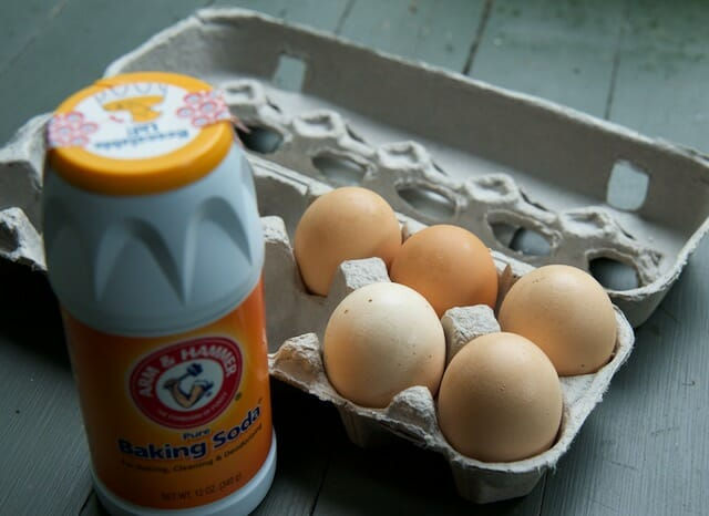 eggs and baking soda
