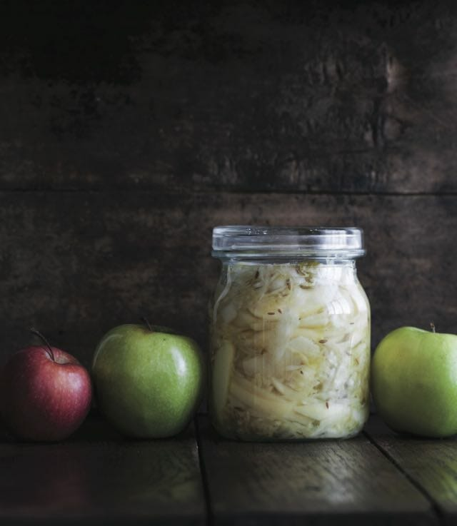 Sauerkraut with Apples and Caraway