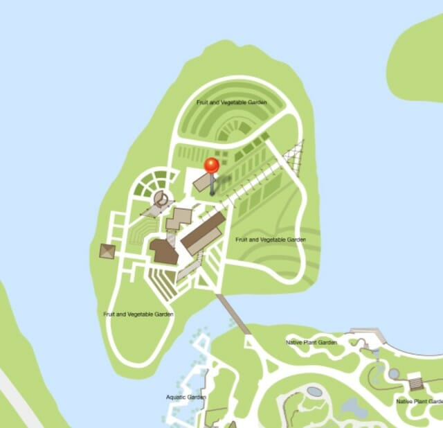 CBG veg garden map