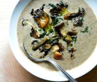creative vegetable and mushroom soup ideas, with alexandra stafford