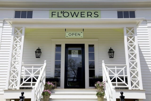Tiny Hearts Farm flower shop in Hillsdale NY
