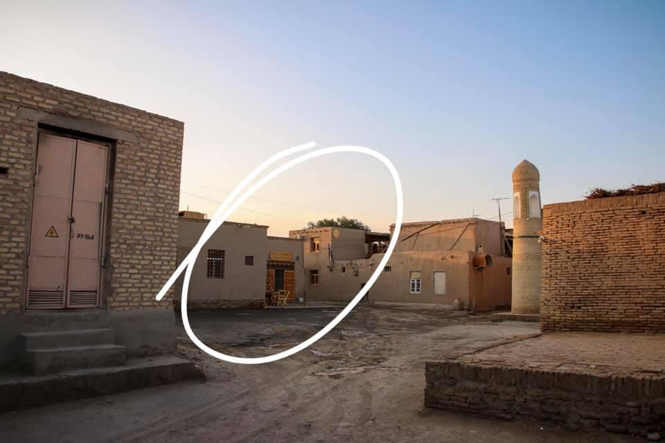 Uzbekistan travel blog - our guesthouse in Khiva.