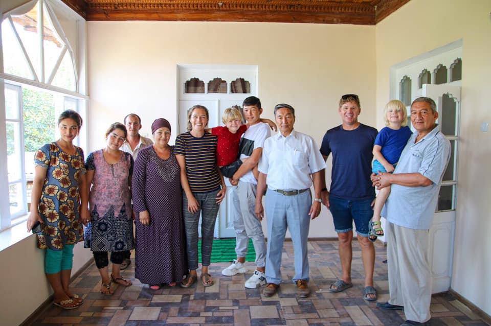 Uzbekistan travel blog. Hospitality in Uzbekistan is second to none.