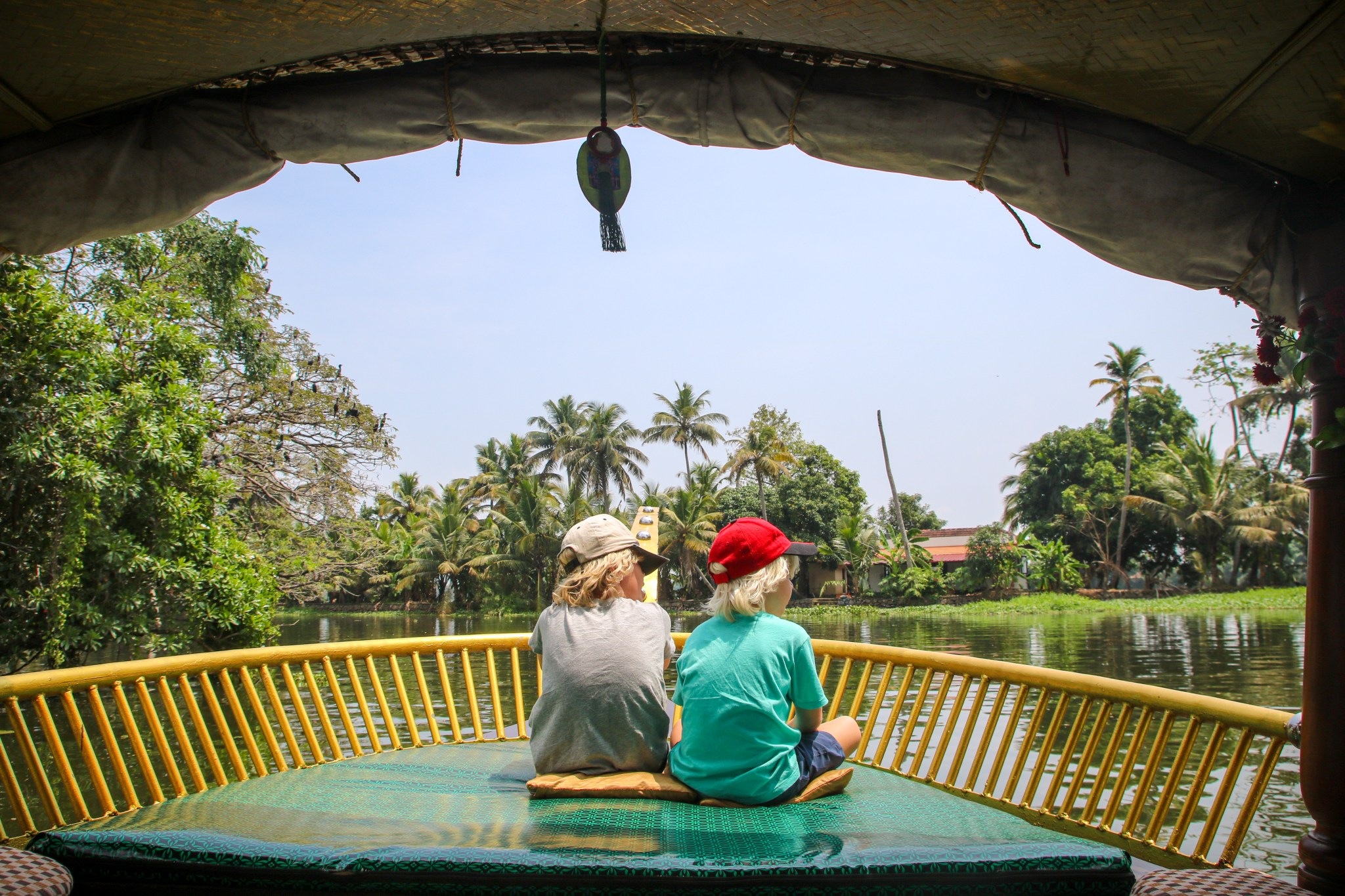 Kerala India with kids.