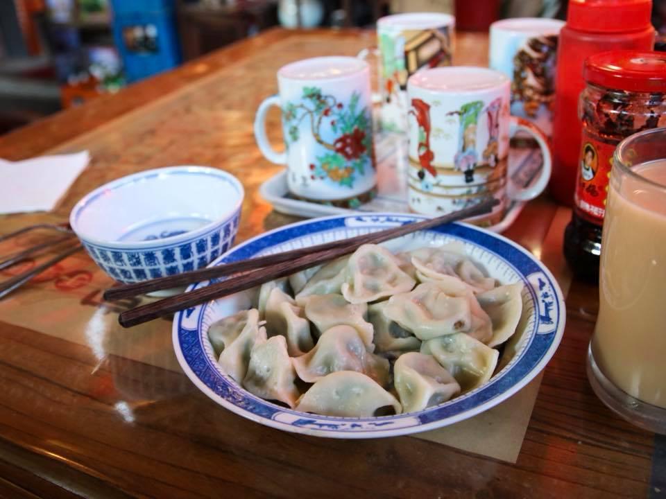 Dumplings for breakfast were some of the best food in Beijing we ate.