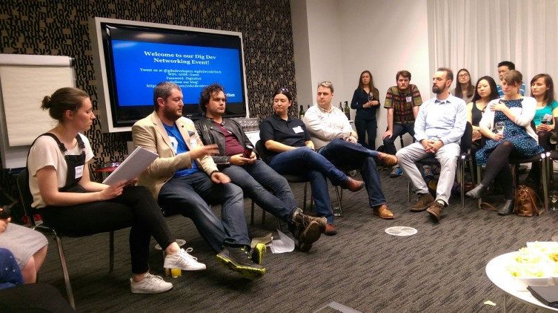 Guardian Digital Development tech panel