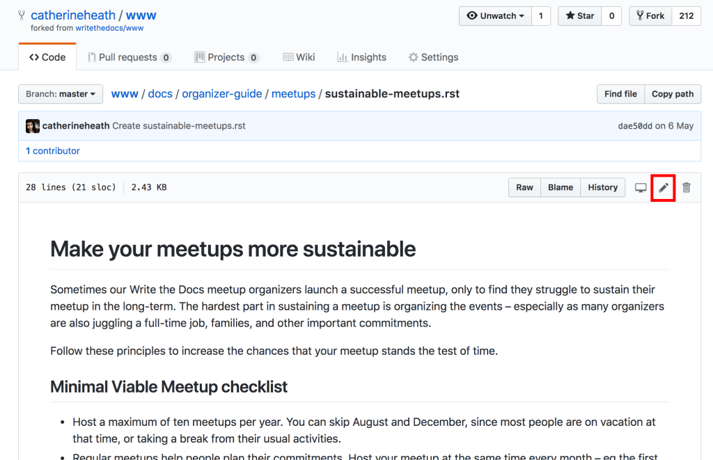 Practical guide: Contributing to open source documentation
