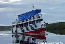 Путешествие по Амазонке в Бразилии
