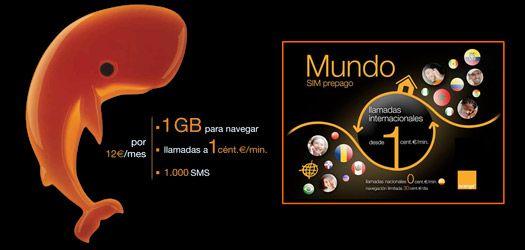 Мобильный интернет 3g в Испании
