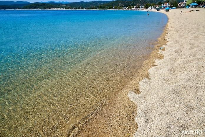 Пляж Торони Халкидики
