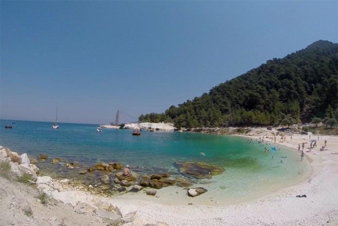 Остров Тасос пляжи