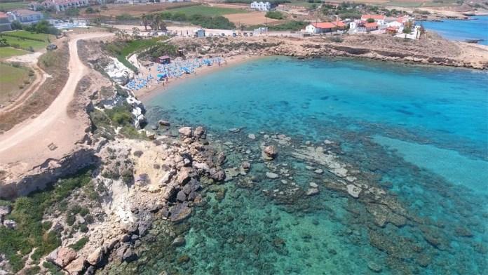 Пляжи Протарас Кипр