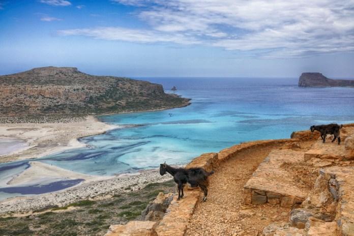 Бухта Балос на Крите
