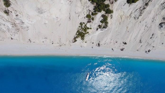 Лефкада лучший пляж Порто Кацики