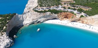 Порто Кацики лучший пляж острова Лефкас
