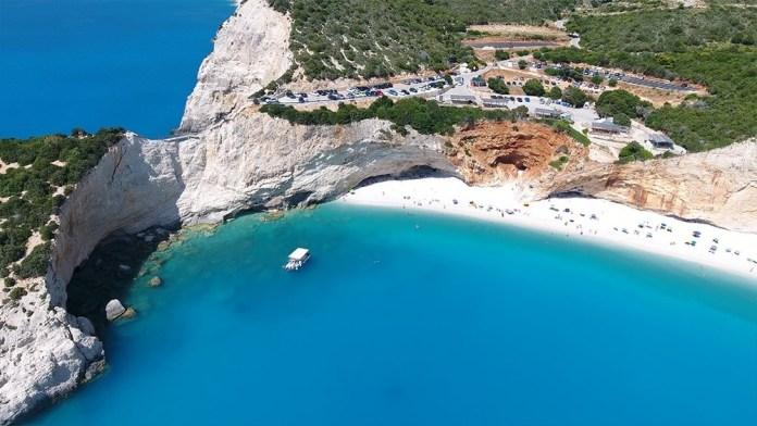 Лефкада лучшие пляжи Порто Кацики и Эгремни