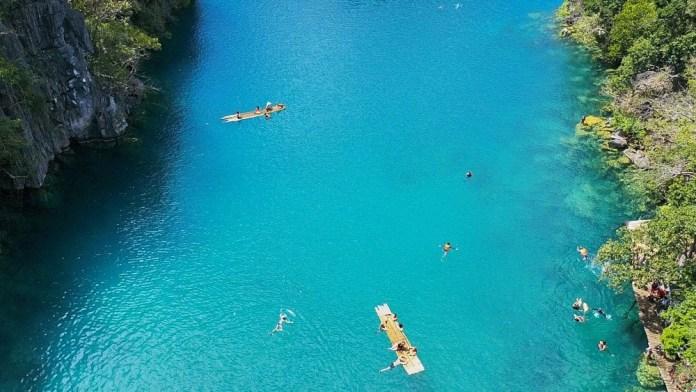 Озеро Каянган. Корон Филиппины