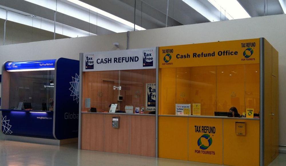 Такс фри (Tax Free) в аэропорту Рима