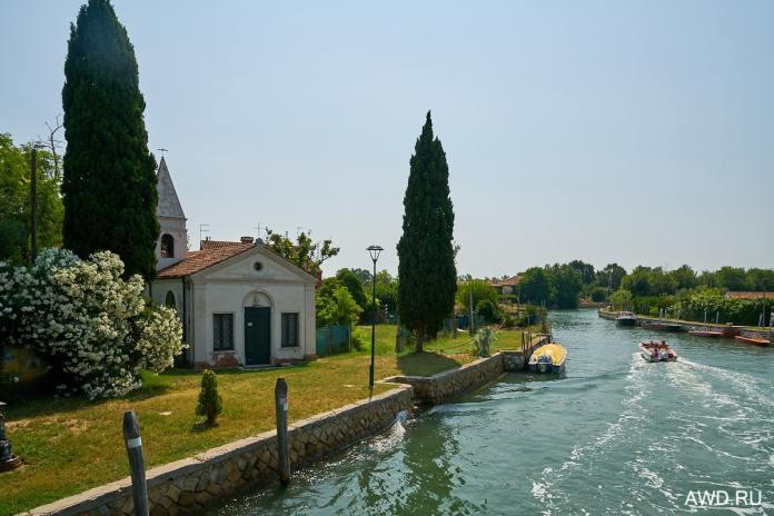 Марины и стоянки в лагуне Венеции