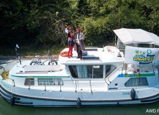 Вождение моторной яхты в Венецианской лагуне