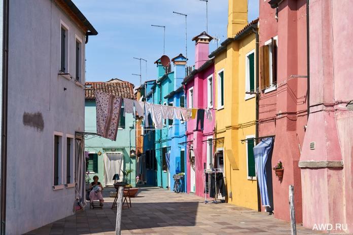 Бурано Италия