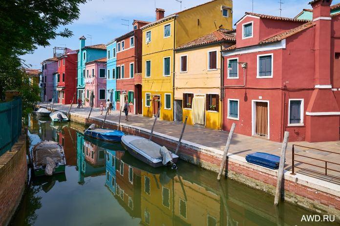 Бурано Италия фото