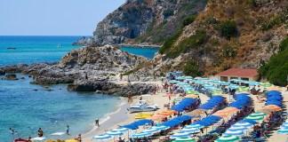 Пляж Гротичелли Калабрия