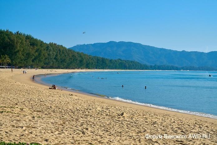 Пляж Банг Тао Пхукет отзывы