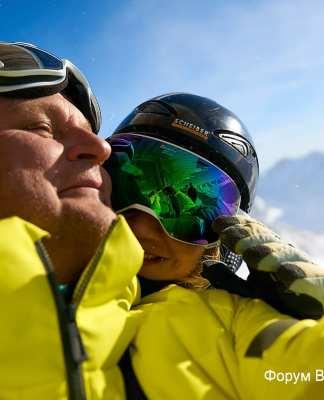 Горные лыжи в Австрии. Январь 2018