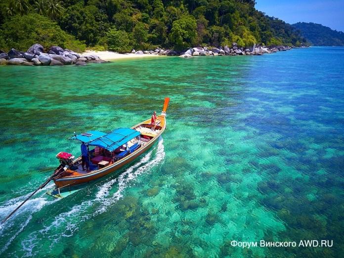 Остров Ко Аданг пляжи
