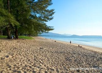 Пляж Банг Тао начале декабря