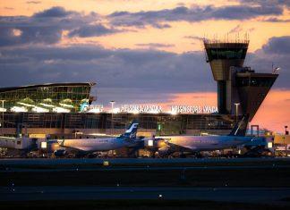 Паспортный контроль в аэропорту Хельсинки